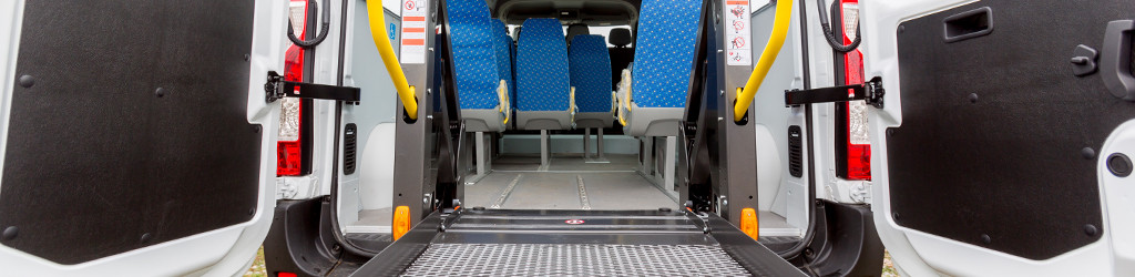 rear of accessible van